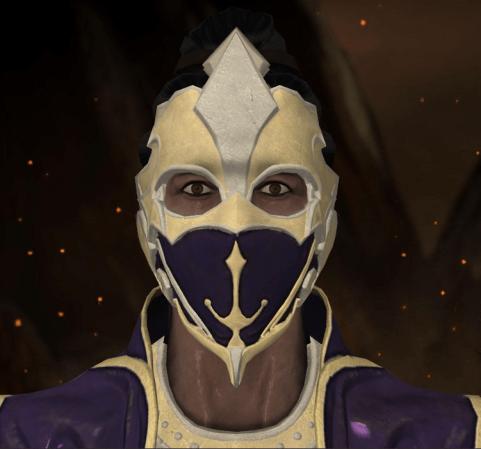 Rain com máscara