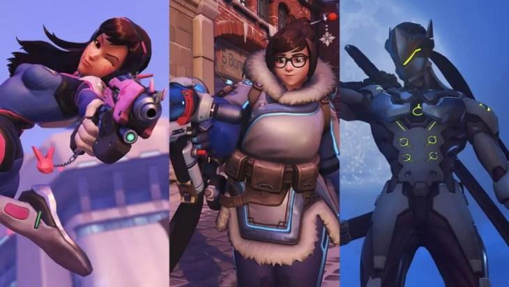 D.VA, Mei e Genji são os mais novos heróis de Overwatch.