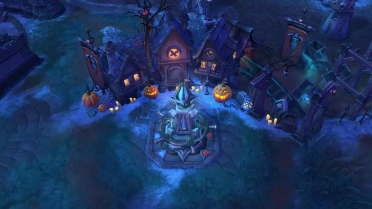É tão Halloween esse novo mapa...