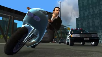 Grand Theft Auto Liberty City Stories corrida de moto