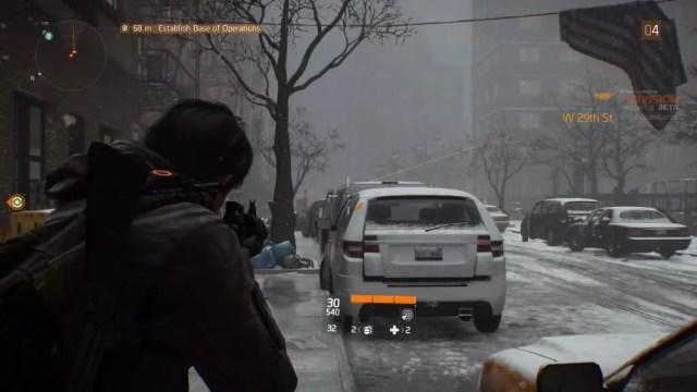 The Division é um jogo de tiro em terceira pessoa com sistema de cobertura (cover)