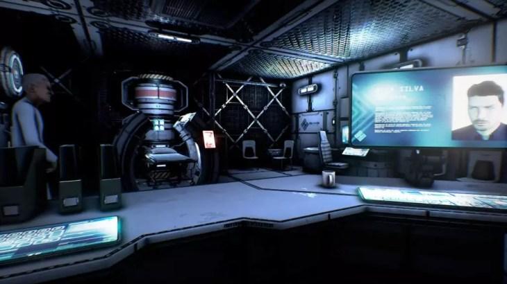 Alex em uma máquina da Oblivion