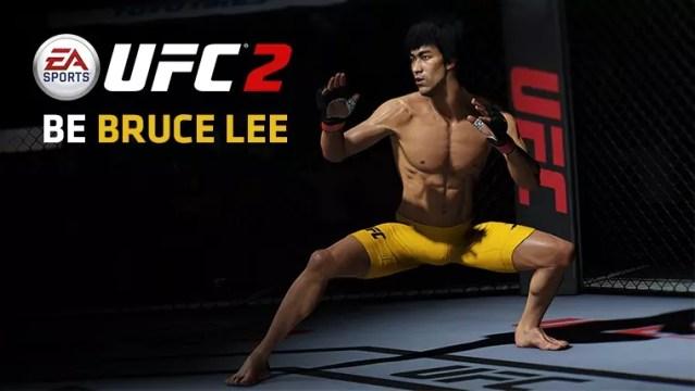Bruce Lee no EA Sports UFC 2