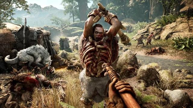 O combate em Far Cry Primal