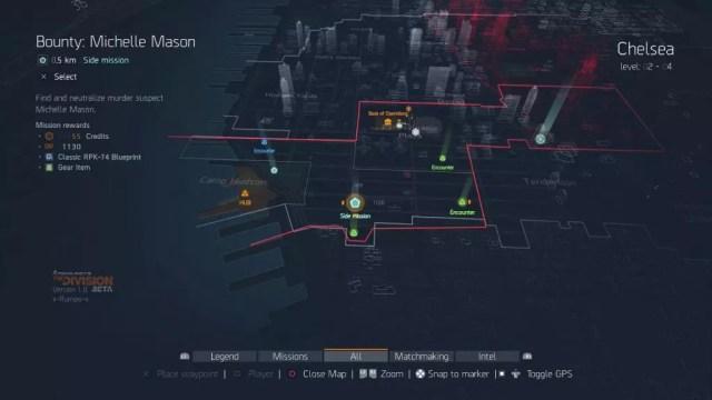 Visão geral das missões de The Division