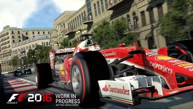 Ferrari F1 2016 jogo