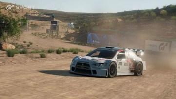 Gran Turismo Sport corrida na terra