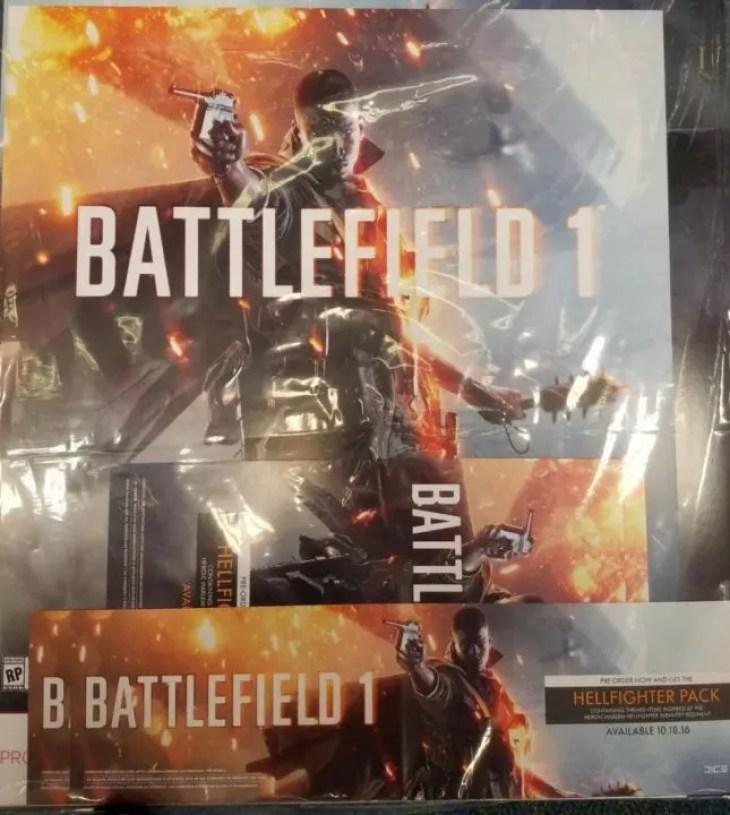 Imagem de Battlefield 1 poster