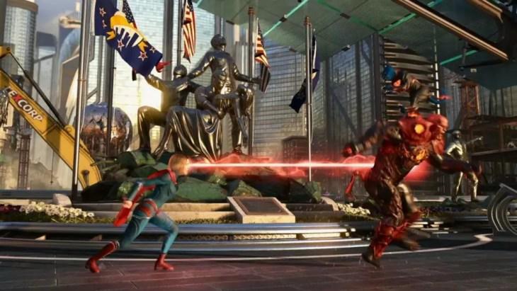 Injustice 2 - Raio lazer Supergirl