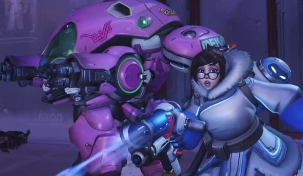 Modo competitivo Overwatch no xbox one