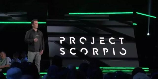 Project Scorpio é o novo console da Microsoft