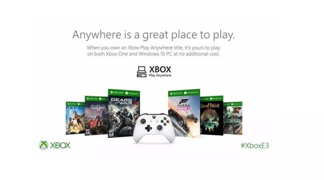 Xbox Play Anywhere programa