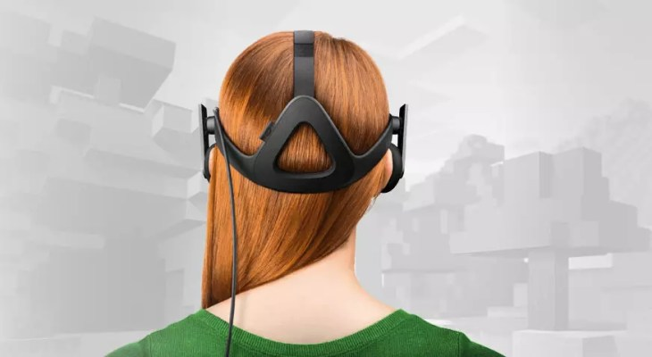 óculos virtual no Minecraft