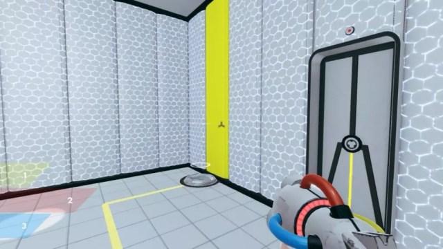 Dispositivo para abrir a porta em ChromaGun