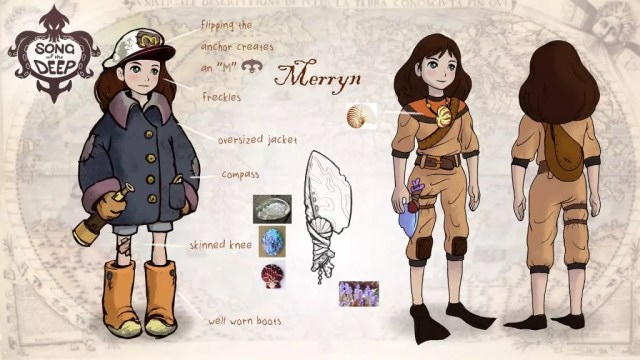 Merryn em Song of the Deep