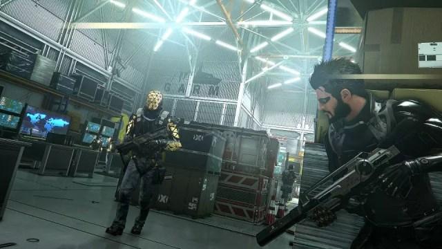 Os combates em Deus Ex: Mankind Divided podem ser tanto em primeira ou terceira pessoa