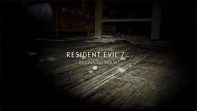 Download da demo de Resident Evil 7 para PC