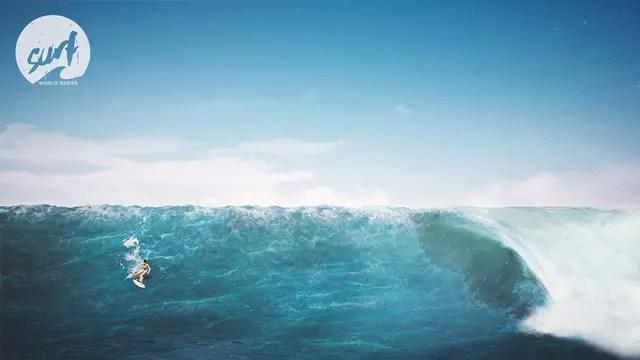 Surf World Series grandes ondas