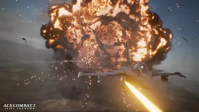 Ace Combat 7 Skies Unknown deixou de ser exclusivo para a plataforma PlayStation 4