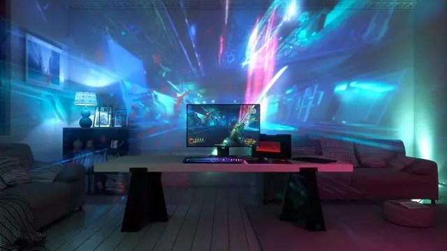 Razer cria o primeiro sistema de projeção para games