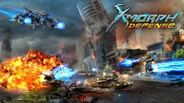 Em X-Morph Defense você poderá invadir e dominar o planeta Terra