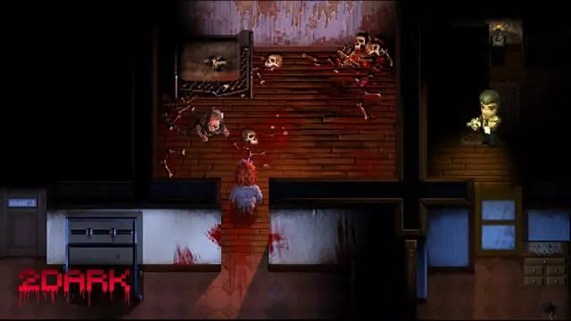 Horror em 2d no jogo de terror 2dark