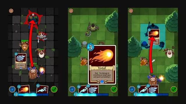 Imagens do jogo Summoners Fate