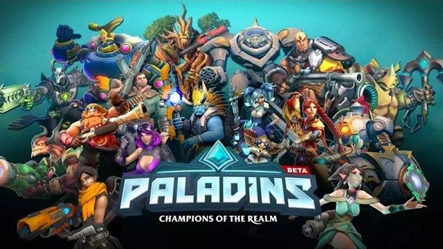Beta fechada consoles Paladins