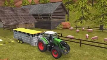 Farming Simulator 18 cultivo de porcos