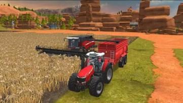 Farming Simulator 18 no deserto dos EUA