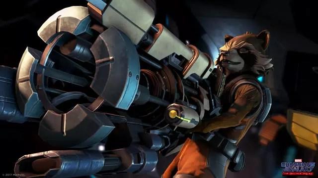 Guardiões da Galáxia videogame