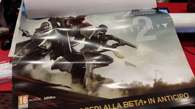 Pôster de Destiny 2 vazado
