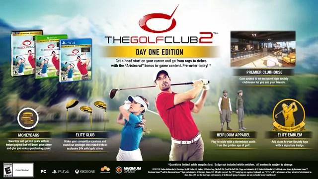 The Golf Club 2 edição do primeiro dia
