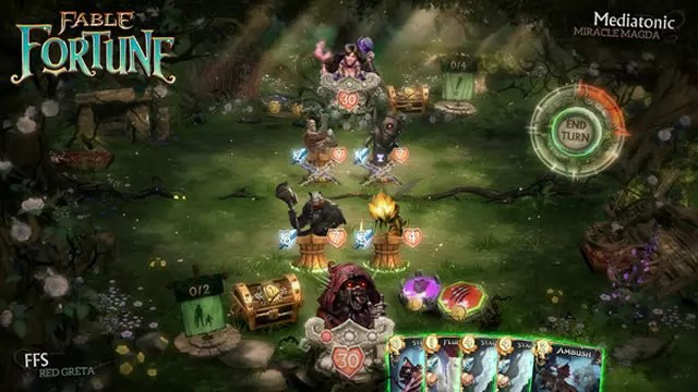 Fable Fortune imagem gameplay