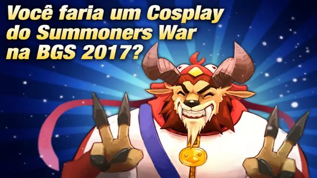 Concurso de Summoners War BGS 2017