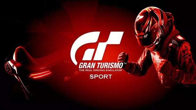 Gran Turismo Sport lançamento trailer