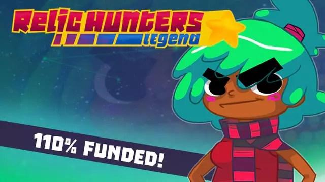 Jogo brasileiro Relic Hunters Legend completa campanha no Kickstarter com sucesso