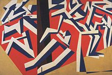 Vorticist David Bomberg's The Mud Bath, 1914