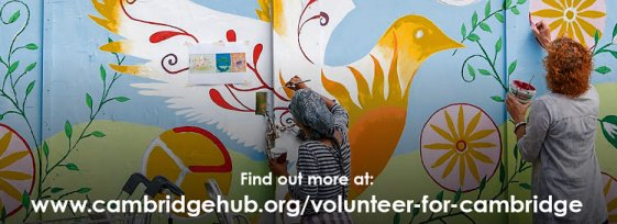 Visit the Volunteer for Cambridge event page here...