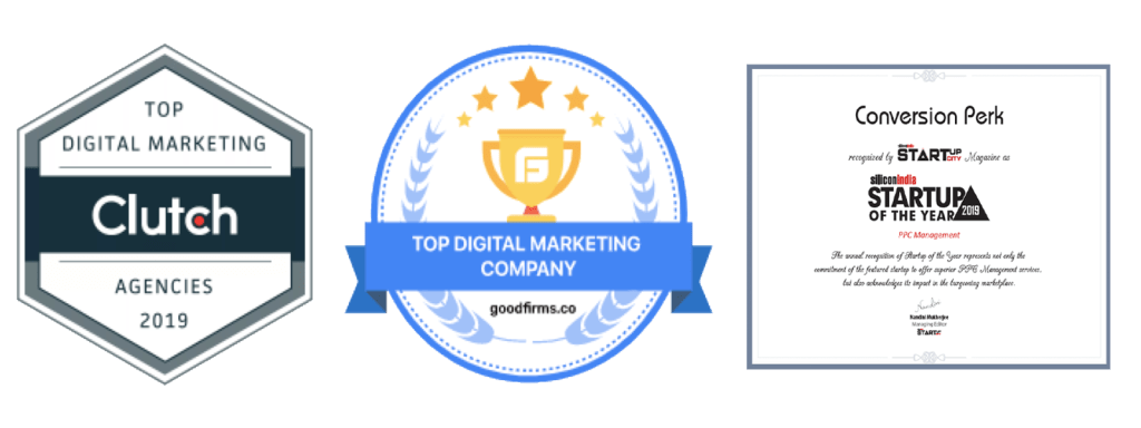 """Conversion Perk Rated as the """"Startup Of The Year 2019"""" in PPC Management Category"""