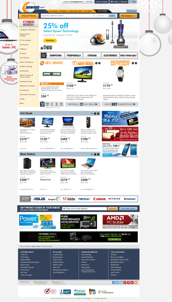 Newegg.com - Computer Parts, Laptops, Electronics, and More!