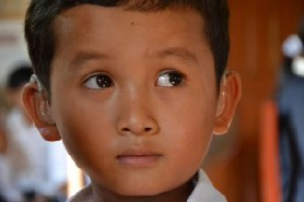 Enfants sourds du cambodge