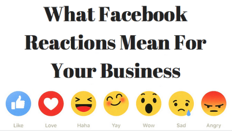 Facebook Reactions And What It Means For Your Business