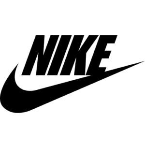 nike logo shoe size