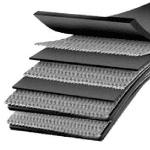 Conveyor component layers