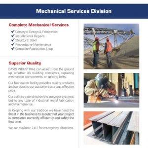 Mechanical Services Flier