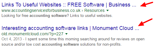 google-search-intitle-links