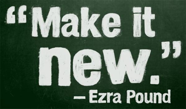 Ezra Pound quote