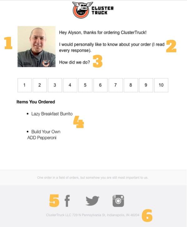 ClusterTruck Net Promoter Score Survey