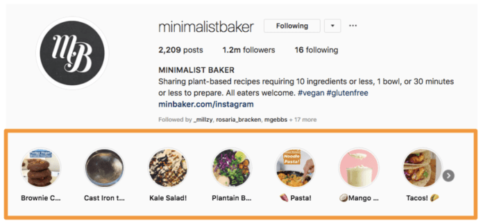 minimalist baker instagram